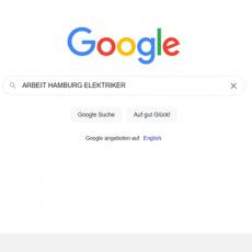 Google Jobs Suchmaske