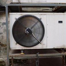 Foto Klimagerät, Klimaanlage außen